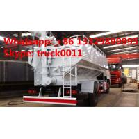 20m3 hydraulic poutry animal feed truck for sale, 8tons-10tons hydraulic discharging poultry feed vehicle for sale Manufactures