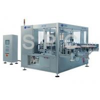 Rotary Automatic Bottle Labeling Machine High Accurate For PET Bottle Manufactures