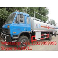 China best price 4x2 dongfeng 9000-14000liters oil tanker truck for sale, factory sale cheapest fuel tank truck Manufactures