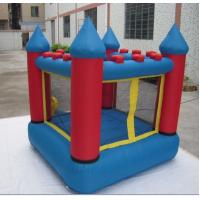 Samll Inflatable Bounce House 210d Oxford Fabric Blue And Red Manufactures