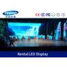 Super Slim P4 Rental LED Display Screen 8 Bit MBI5024 IP43 , LED Video Panel Rental Manufactures