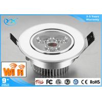 Integrative Brightness Dimmable Remote Controlled Light Fixture Colour Changing Led Downlights 3000K - 6000K Manufactures