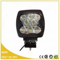 80w led headlight,Truck LED Work Lights, Off Road Auto 12 volt led work lights Manufactures