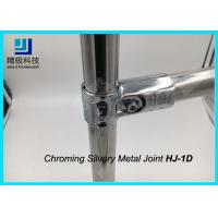 China ESD Creform Pipe Workbench Chrome Pipe Fittings Chrome Plated Metal Joint Anti Static on sale
