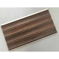 25cm × 8mm Four Arcs PVC Wooden Plastic Laminate Panels Customized Length Manufactures