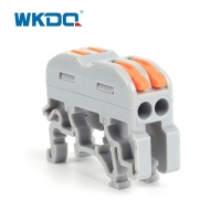 PCT 212 Series 2 Pin Compact Conductor Din Rail Terminal Blocks Cable Wire Connector Manufactures
