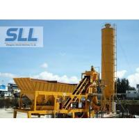 Integrated Design Concrete Batching Plant Mobile Mixing Plant 12 Months Warranty Manufactures