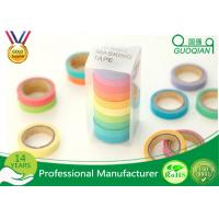 Arts / Gift Crafts Wrapping Japanese Washi Paper Tape Girls Favorite Color Manufactures