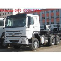 SINOTRUK HOWO ZZ4257S3241W 6x4 371hp 10 wheels tractor truck Manufactures