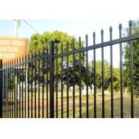 Buy cheap Wholesale Custom Designed Aluminium Garrison Fence Panels for Garden Fencing from wholesalers