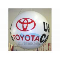 Safety PVC Tarpaulin Inflatable Helium Balloon With Company Logo Waterproof Manufactures