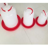 Poultry Farm White Plastic Chicken Waterer & Chicken Drinker & Day Old Chicken Drinker Manufactures