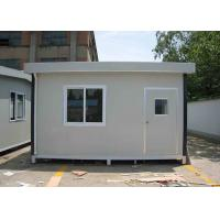 Small Japanese Type Modified 20FT Container House , Premanufactured Homes Manufactures