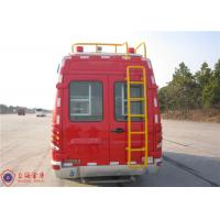 Max Speed 115KM/H Emergency Command Vehicles , Approach Angle 20° Fire And Rescue Vehicles Manufactures