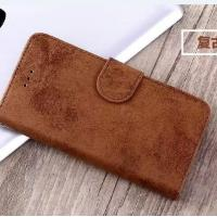 Vintage Samsung S8 2 In 1 Wallet Case Oil Leather Soft Back Cover Seamless Joint