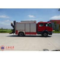 Steel Frame Pedal Plate Fire Rescue Vehicles , ISO9001 Certificated Heavy Rescue Truck Manufactures