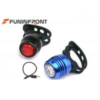 Quality USB Rechargeable LED Bike Lights Safety Warning Durable LED Rear Lights for sale