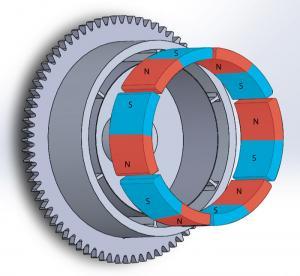 Durable Customized Flywheel Arc Shaped Segment Ferrite Magnet Manufactures