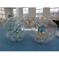 1.2m 1.5m 1.8m  PVC / TPU Custom Made Inflatable Body Zorbs for Kids and Adults Manufactures