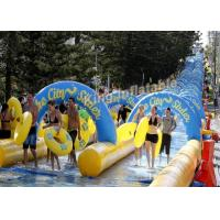 Crazy Fun Giant100×5.8m  PVC Tarpaulin Inflatable Slip N slide  The City For Adult Manufactures