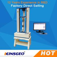 0.5~1000mm/min Speed Ball Screw Universal Testing Machines For Metal / Plastic / Rubber Manufactures