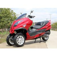 Water Cooled 3 Wheel Motorbikes For Adults , 300cc / 250cc Single Cylinder Motorcycle Manufactures