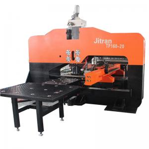 160T Hole CNC Hydraulic Punching Machine 25mm Thick Plate Sheet Metal Manufactures