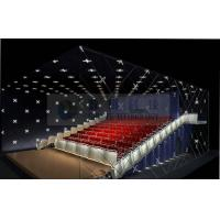 Popular Theme park 3D cinema system , 4D 5D cinema movie theaters with real leather motion chairs Manufactures
