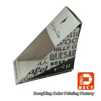 Quality Triangle Food Grade Sandwich Packaging Box Personalized Biodegradable for sale