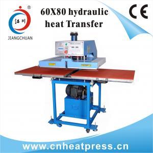 China Hydraulic AUTO Double Working Position T-shirts Heat Transfer Machine on sale