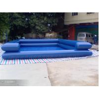 0.9mm PVC Tarpaulin Inflatable Family Pool For Exercise , Blue Water Pools Manufactures