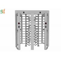 Single Channel Full Height Turnstiles , Remote Control Security Gate Turnstile Manufactures