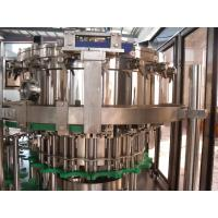 China 3- In -1 Washing Filling Capping Machine For Bottle / Can PLC Control on sale