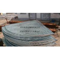 Fan-shaped steel grating Manufactures