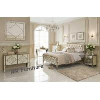 Unique Mirror Furniture Set For Bedroom Venetian Design Queen Size Bed Manufactures