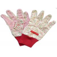 Reusable Industrial Work Gloves , Cotton Knitted Gloves Fabric Cotton Drill Manufactures