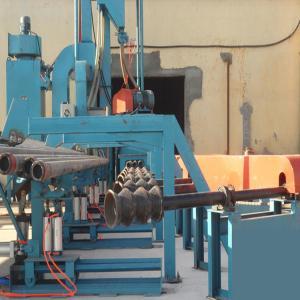 49.45kw 7000m3/H Steel Pipe Shot Blasting Machine Manufactures