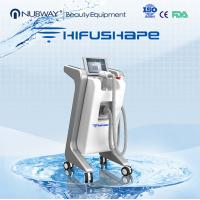 Buy cheap Professional hifu beauty machine / power star hifu cavitation rf vacuum system from wholesalers