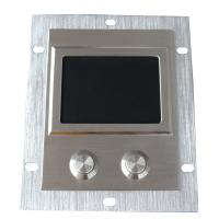 IP65 high sensitive industrial 304 steel touchpad with 2 short stroke key buttons Manufactures