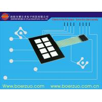 Glossy Window LED Backlit Membrane Switch FPC / PCB / silicone rubber For Equipment Manufactures
