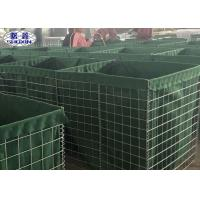 Buy cheap MIL Military Used Sand Wall For Stopping Floodwaters Easy Installation from wholesalers