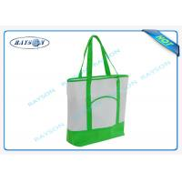 100% recycled pp non woven  handle shopper shopping bag for carbage Manufactures