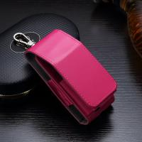 Rose Color IQOS Leather Ecig Case PU Material 45g Travelling Carry Dust Proof Manufactures