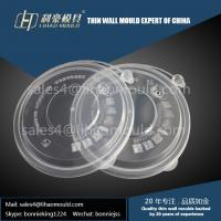 1000ml disposable fast food thin wall bowl mould and lid mould manufacturer in China Manufactures