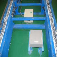 Automated UV Line Painting Equipment For Motorcycle , Friction Roller Conveyor Line Manufactures