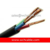 UL PVC Cable, AWM Style UL2919 16AWG 3C VW-1 80°C 30V, PVC / PVC Manufactures