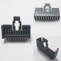 10 pin 90°DIP Wire To Board Connector PBT 30%GF UL94V-0  Brass Sn Plated Wafer Housing Manufactures