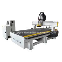 Changing 4 Pcs Tools Linear ATC CNC Router with SYNTEC System Manufactures