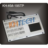 Rugged stainless steel panel mount keypad Manufactures