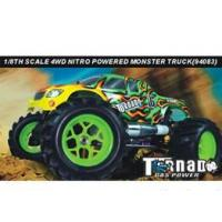1:8th Scale Gas Power R/C Monster Truck Manufactures